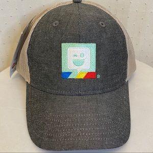 CapAmerica snap back Bitmoji trucker hat